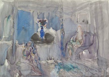 Sitting Room by Moshe Leider