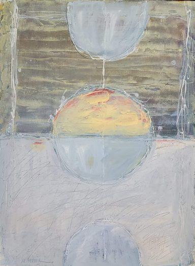 Half Moon by Moshe Leider