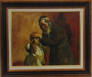 Blessing the Son by Adolf Adi Adler