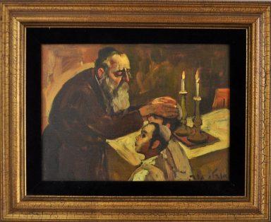 Blessing the Sons by Adolf Adi Adler