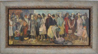 Town Folk by Adolf Adi Adler