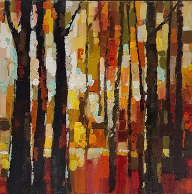 Aleksandra Rozenvain: Autumn Stroll