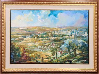 Jerusalem View by Alexander Grinshpun