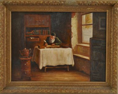 Boris Dubrov (after Dubrov): The Scribe