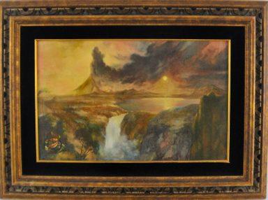 Waterfall Volcano by Charles Bragg