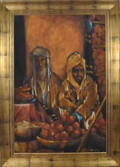 Yemenite Market by Charles Bragg