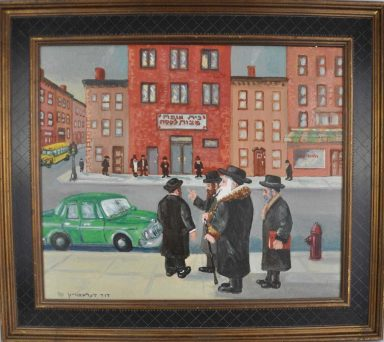 Rebbe on the Road by Dovid Dershowitz
