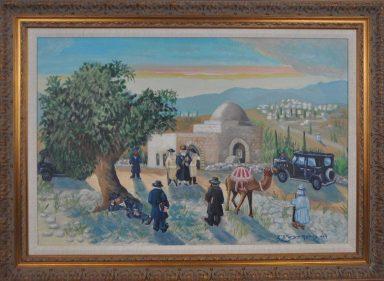 Visiting Kever Rochel by Dovid Dershowitz