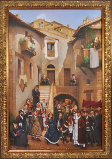 Eduard Gurevich: Shtetl Wedding