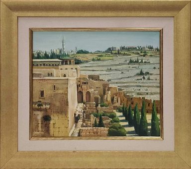 Old City Jerusalem by Elena Boukingolts