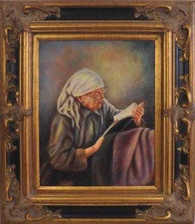 Bubby Reciting Tehillim by Elie Benzaquen