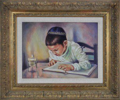 Candle Lit Studies by Elie Benzaquen
