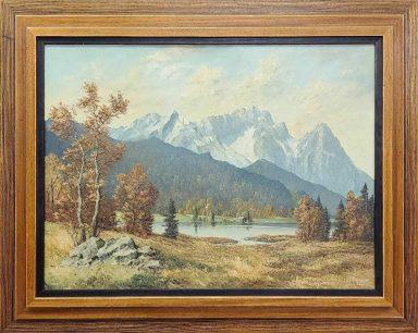 Frederick Kammeyer: Lake and Mountains