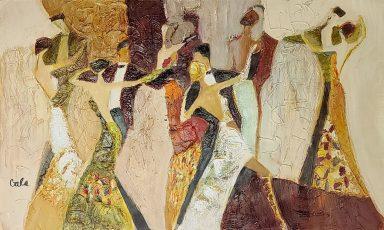 Dance Partners by Galina Didur
