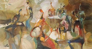 Musical Cafe by Galina Didur