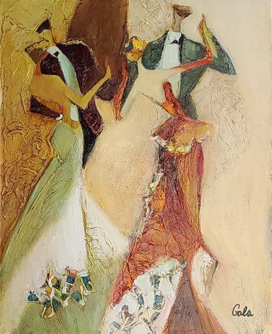 Dancing with You by Galina (Gala) Didur