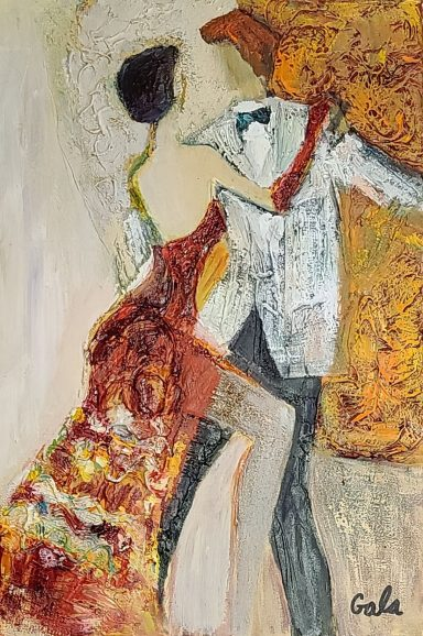 Dressed to Dance by Galina (Gala) Didur