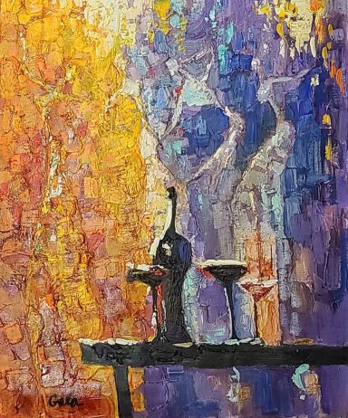 Figures of the Night by Galina (Gala) Didur