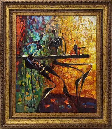 Find me at the Bar by Galina (Gala) Didur
