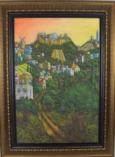 Jonathan Kis Lev: Hills of Jerusalem