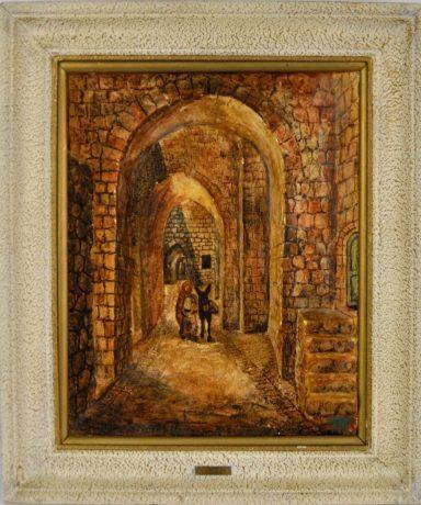 Joseph Manobla: Stone Art Jerusalem Streets