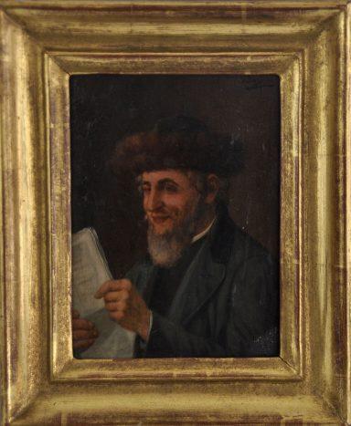 Joseph Suss: Rabbi Reading the Paper