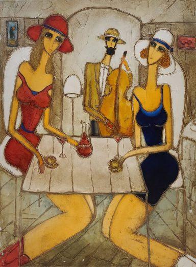 Girls Night Out by Judi Panjikidze