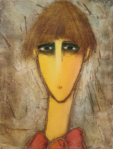 Sad-Eyed Boy by Judi Panjikidze