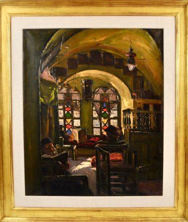 Ludwig Blum: Misgav Ladach Synagogue
