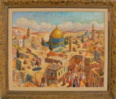 Maurice Jean Micha: Old City Jerusalem