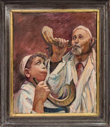 Maurice Van Felix: Blowing Rams Horn