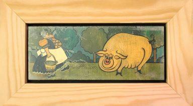 This Little Piggy Didnt Go Home by Miriam Dauber