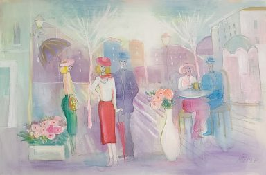 Date Night by Moshe Leider