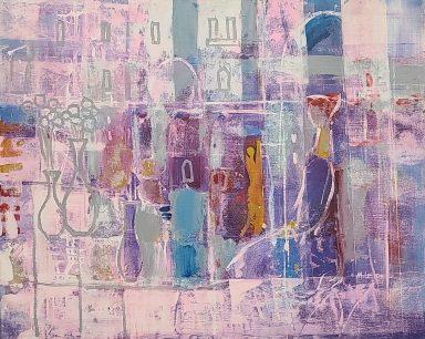 Lavender and Violet by Moshe Leider