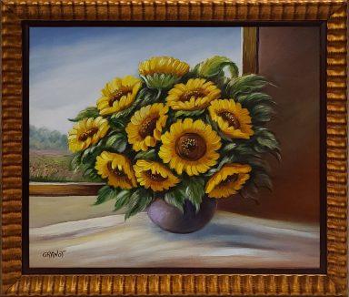 Sunflowers by Nurit Granot