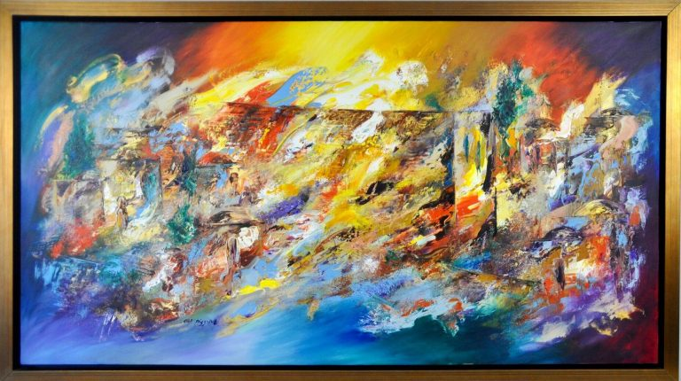 Kotel in Color by Ora Nissim