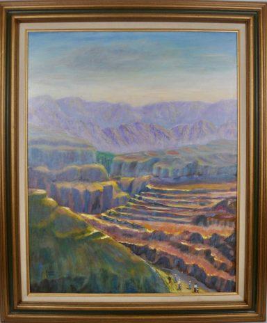 Hills Of Zion by Rachel Gilboa
