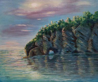 Ocean Cliffs by Rachel Gilboa