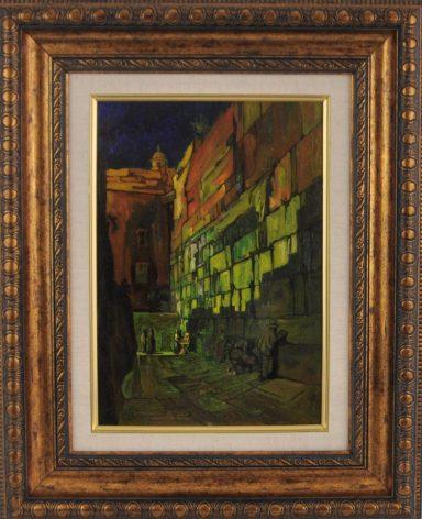 Night at the Wailing Wall by Saul Raskin