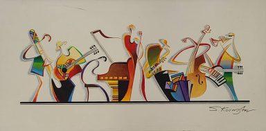 Musical Figures by Shaul Kosman