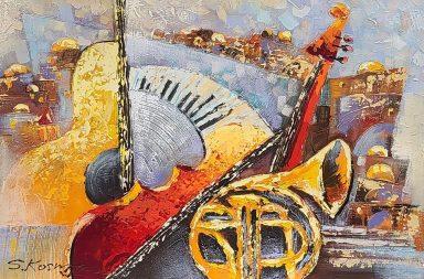 Old City Jerusalem Musical #10 by Shaul Kosman