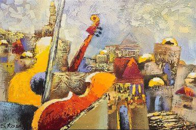 Old City Jerusalem Musical #11 by Shaul Kosman