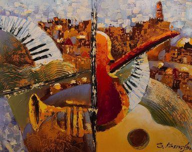 Old City jerusalem Musical #8 by Shaul Kosman