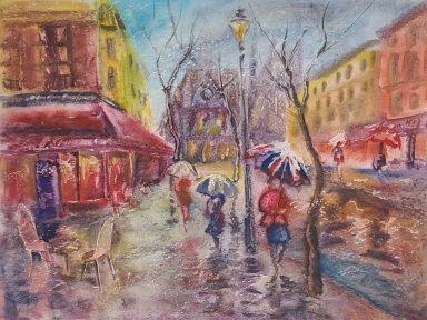 Rain in Color #4 by Shaul Kosman