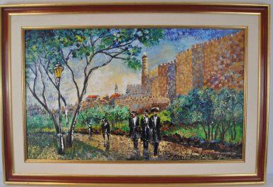 Strolling Along the Old City Walls by Shaul Kosman