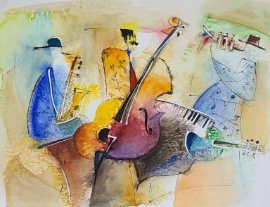 The Cool Trio by Shaul Kosman