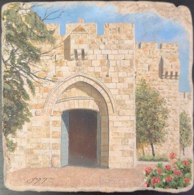 Old City Entrance by Miki Karni
