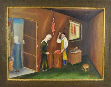 The Butcher by Yitzchak Roman