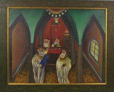 Torah Reading by Yitzchak Roman