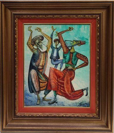 Dancing Joy by Yossi Stern
